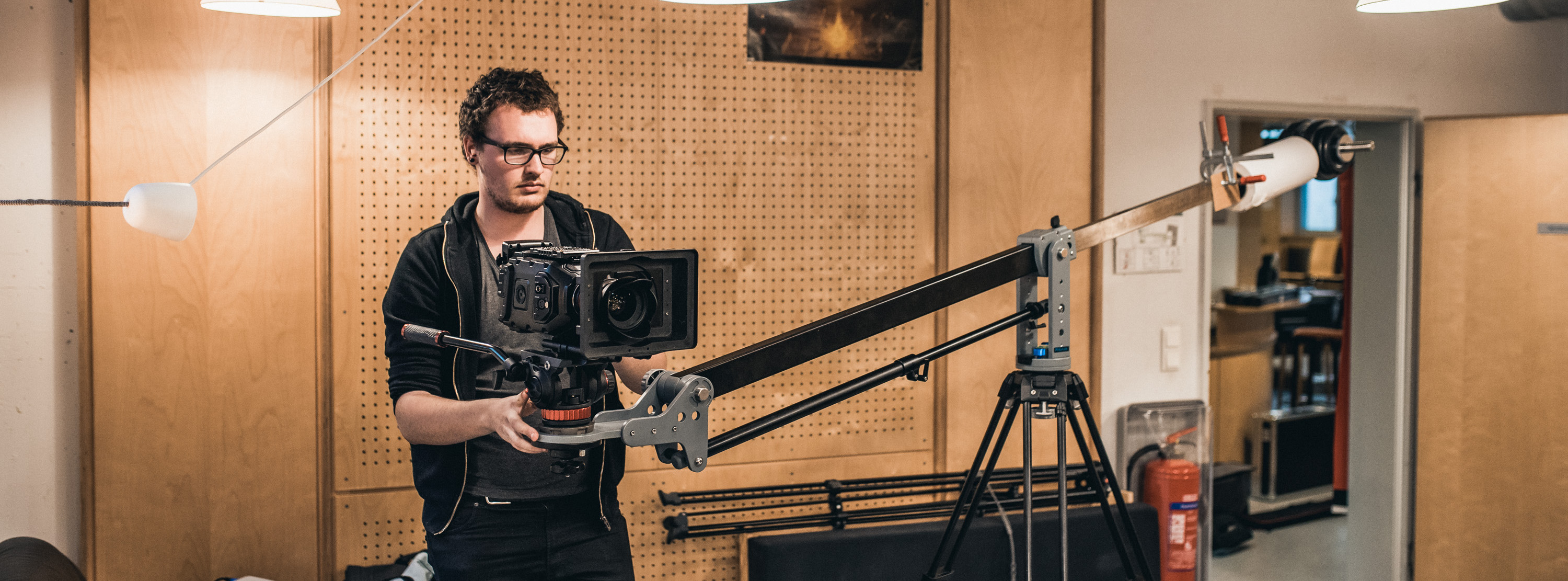 Unwinged Pictures Jasper Zevering with Ursa 4.6 on Jib